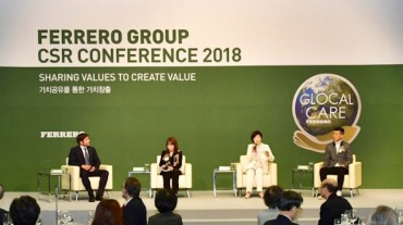 Ferrero Group Pledges Greater Social Responsibility Efforts in S. Korea