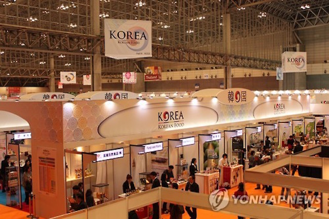S. Korean Food Firms to Participate in Foodex Japan 2018