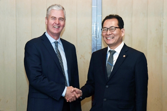 S. Korea Vows Commitment to Tackle Climate Change