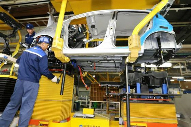 GM Korea's Changwon Plant Suffers Tumbling Sales over 4 Years