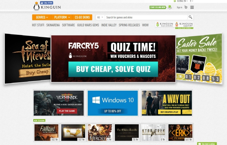 """Kinguin Reinvents the Online Gaming Marketplace with ICO Launch of """"Krown Tokens"""""""