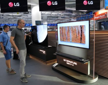 Samsung, LG Vying for Bigger Share of Premium TV Market