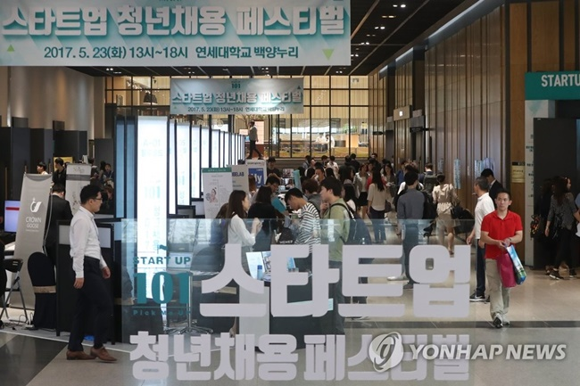Young South Korean workers are avoiding small and medium-sized enterprises in fear of the long-term negative impact on their career and income, a new study has revealed. (Image: Yonhap)