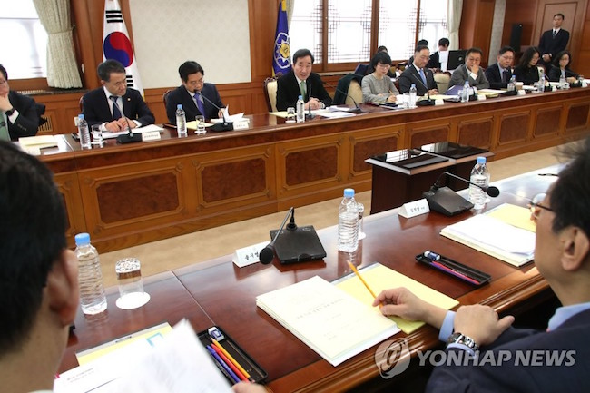 "Lee said, ""South Korea is second in the world behind Israel in terms of R&D spending in relation to GDP. This year's R&D budget is the largest it's ever been, and for the first time in history has surpassed the budget of social overhead capital in value."" (Image: Yonhap)"