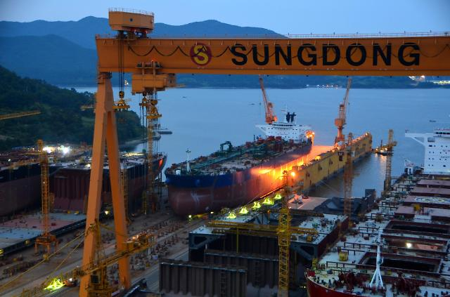 Sungdong Shipbuilding to File for Court Receivership: Finance Minister