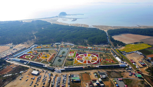 The 2018 Taean World Tulip Festival is scheduled to open at the Korea Flower Park in Taean County on April 19. (Image: Korea Tourism Organization)