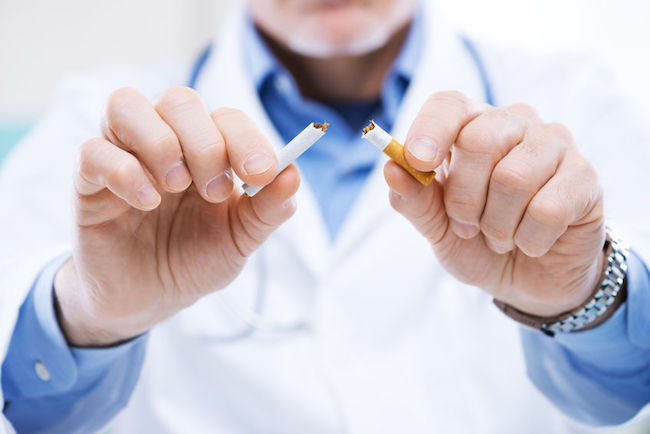 Same Risk of Arteriosclerosis Regardless of the Number of Cigarettes Smoked