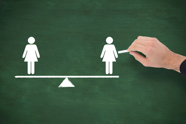 Only 86.2 percent of male respondents agreed to the proposition that it is uncomfortable for male employees to work under a female superior. (Image: Korea Bizwire)