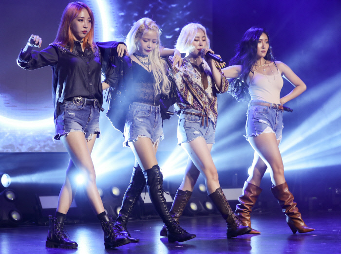 """Girl group Mamamoo released its sixth EP """"Yellow Flower"""" on March 7. (image: Yonhap)"""