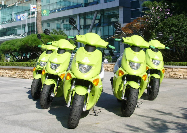 The Ministry of Environment has selected six types of motorcycles that are applicable for subsidies ranging from 2.3 million won to 3.5 million won per vehicle. (Image: Seoul)