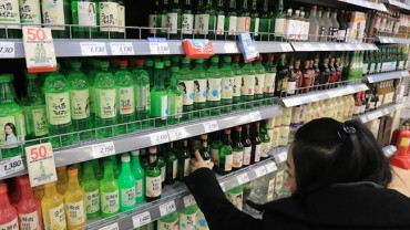 Sales of Soju Edges Up in 2017