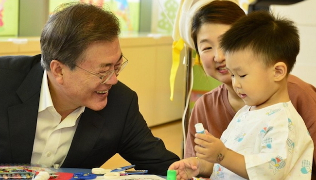 South Korea was nearly at the bottom of child and family welfare rankings among other major economies, a government report showed Thursday. (Image: Yonhap)