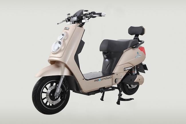 An electric two-wheeler model (Image: Modunara)
