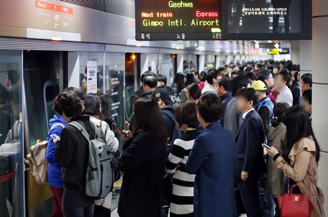 As a countermeasure, Seoul Metro is checking over 255 spots in the city's subway network for illegal filming equipment with the aid of 255 inspectors from the city government. (Image: Yonhap)