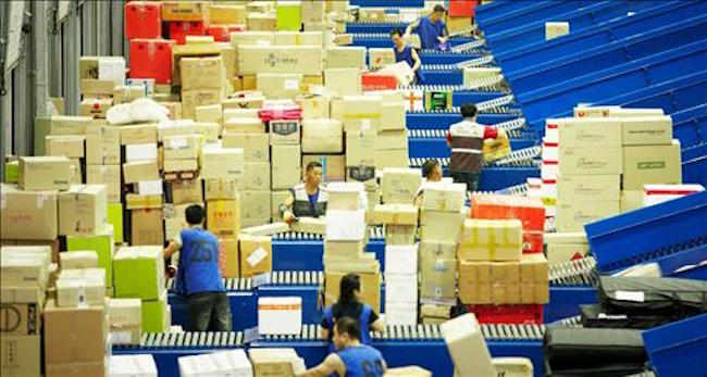 The average South Korean uses a package delivery service 47 times per year. (Image: Yonhap)