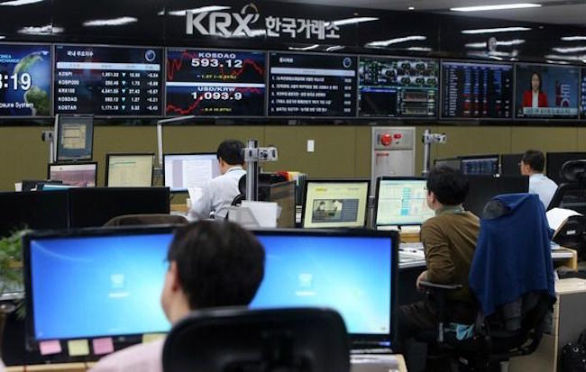 "The overseas businesses of South Korea's main bourse operator Korea Exchange (KRX) have become ""white elephants"" amid consecutive annual losses, industry watchers said Sunday. (Image: Yonhap)"