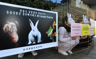 Over 3 Million Animals Used in Testing Last Year in South Korea