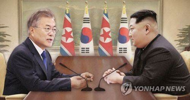 According to a survey conducted by the Korea Press Foundation, around 54 percent said that inter-Korean relations will improve following the much anticipated inter-Korean summit this week, while 42.5 percent expect little to no change. (Image: Yonhap)