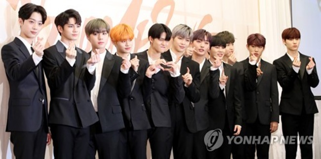 Wanna one announces dates for world tour be korea savvy in this file photo singers of the project k pop group wanna one pose stopboris Choice Image