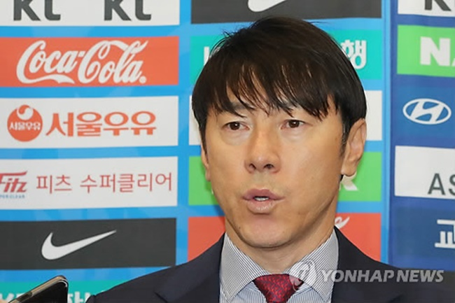 The Korea Football Association (KFA) said South Korea men's national football team head coach Shin Tae-yong will announce his roster for the 2018 World Cup at a multipurpose hall at Seoul City Hall starting at 10 a.m. on May 14. (Image: Yonhap)