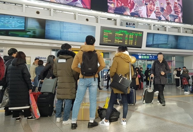The report released by the Ministry of Land, Infrastructure and Transport on Monday revealed around 30 percent of South Koreans are considered 'vulnerable' using public transport facilities, particularly when it comes to passenger ships, bus stations, and terminals. (Image: Yonhap)