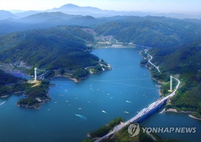 Gimcheon Zip Wire Opens for Thrillseekers