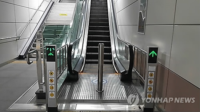 Seoul Metro has managed to cut its typical escalator repair time nearly in half using Internet of Things technology. (Image: Yonhap)
