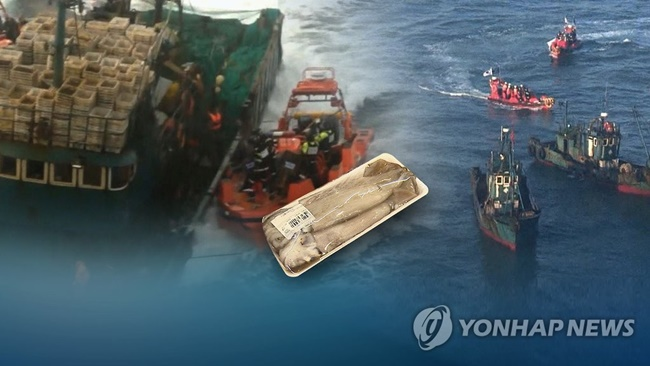 Statistics from the Korean Society of Fisheries and Aquatic Science back the claim, as squid catches in South Korea and Japan have dropped significantly since 2004, when Chinese fishing vessels began operations in North Korean waters. (Image: Yonhap)