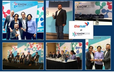 Danal Wins 2018 Trailblazer Award at the KNOW Identity Conference