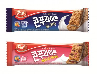 S. Korea's Cereal Bar Market Grows Nearly 20 pct in 2017: Report