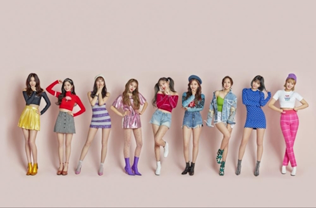 K-pop group TWICE has sold over 2.2 million albums in South Korea since its debut, data showed on Tuesday. (Image: JYP Entertainment)
