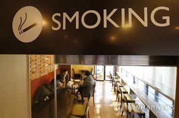 S. Korean Gov't Announces Complete Smoking Ban at Cafés