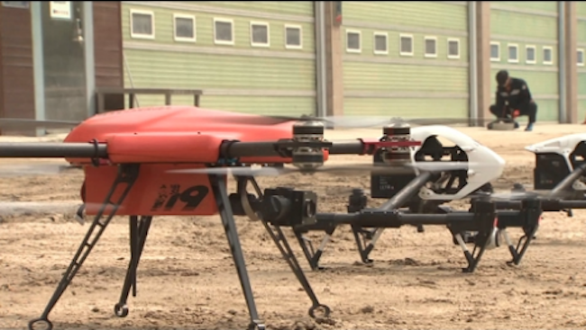 The fire department's aerial capabilities were further buttressed as its drone fleet will go from just one to five. (Image: Yonhap)