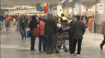 Chinese Arrivals Up for First Time in 13 Months