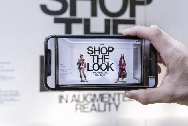 Zara Showcases Augmented Reality Mobile App