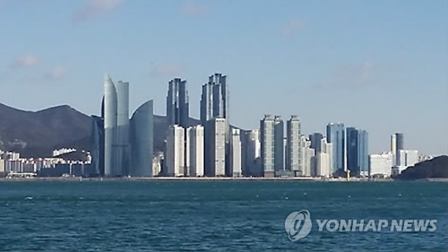 The coastal city of Busan, home to South Korea's second largest city-dwelling population along with one of the busiest ports in the world, boasts more skyscrapers within its limits than any other South Korean city. (Image: Yonhap)