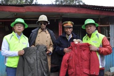 LG Electronics Delivers Jackets to Korean War Veterans in Ethiopia
