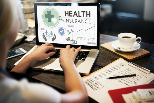 Life insurance firms collect health data from clients, including exercise, diet, and regular checks, through wearable devices to offer insurance discounts or cash back. (Image: Korea Bizwire)