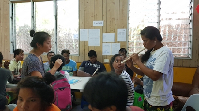 S. Korean Univ. Students' Alternative School in Kiribati Earns Positive Reception