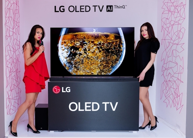 LG to Start Global Sales of AI-powered OLED TVs