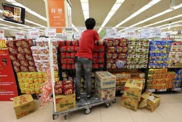 S. Korea's Domestic Ramyun Sales Down in 2017: Data