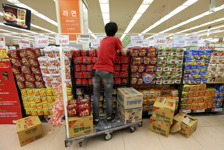 S. Korea's Domestic Ramyun Sales Down in 2017: Data