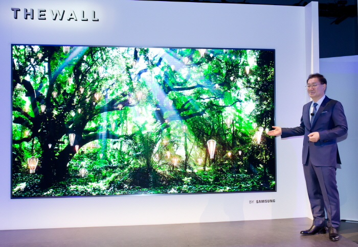 Samsung Expands Presence in Market for Super-large Displays