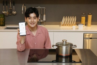 Samsung Launches Cooktop with IoT Features