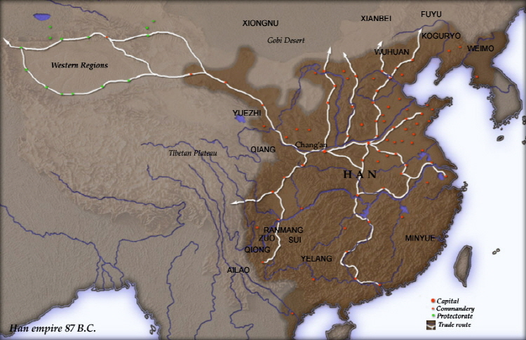 Wikipedia introduce land that is currently part of North Korea as part of the former Han Dynasty. (image: Wikipedia)