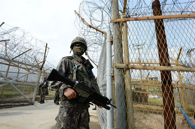 Korean Demilitarized Zone. (image: Ministry of National Defense)