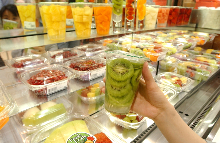 Fruit Cups Gain Popularity