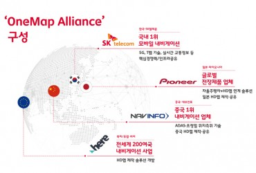 SK Telecom Joins Mapping Consortium for Global High-definition Maps