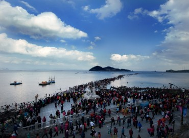 Jindo Sea-parting Fest Opens