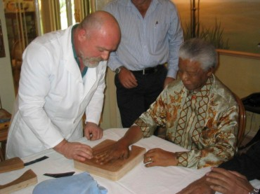 Arbitrade Completes the Purchase of the First of the Mandela Golden Hands Artifacts
